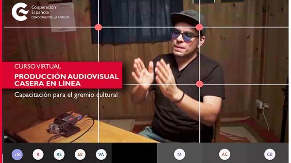 El CFCE Antigua organiza cursos virtuales para fortalecer capacidades en el gremio cultural